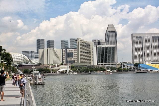 Singapur'da gezilecek yerler marina