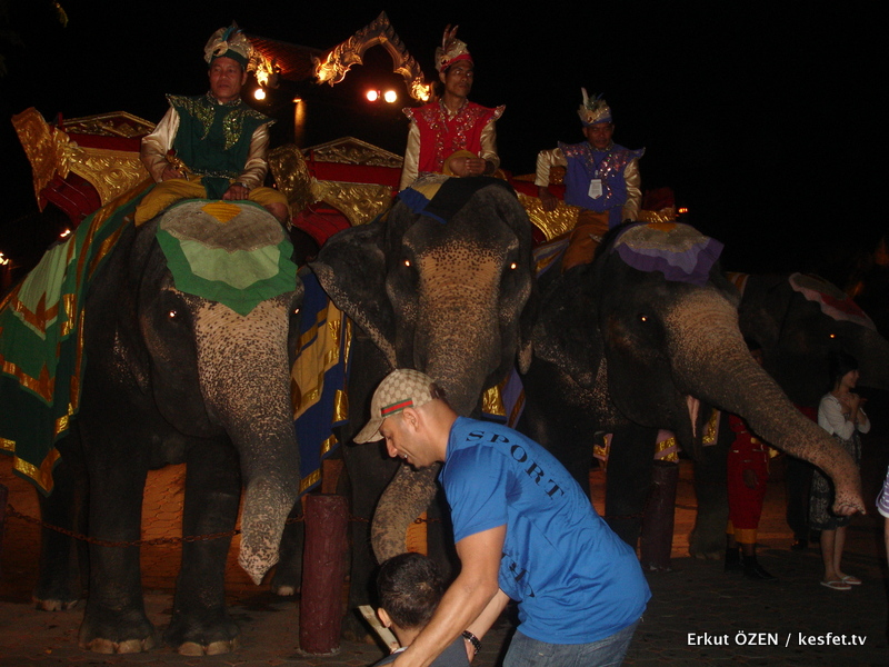 Tayland Phuket Fantasea Gezisi