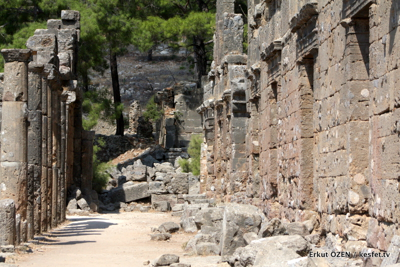 Seleukeia antik kenti antalya