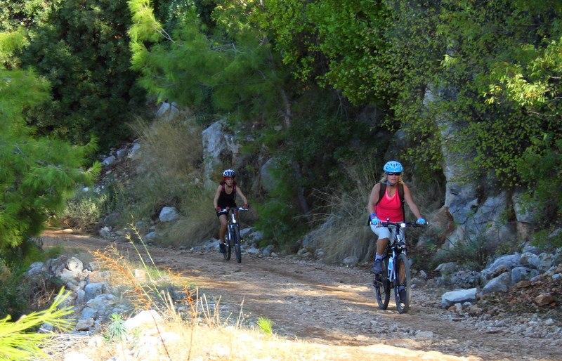 Bisiklet rotaları antalya