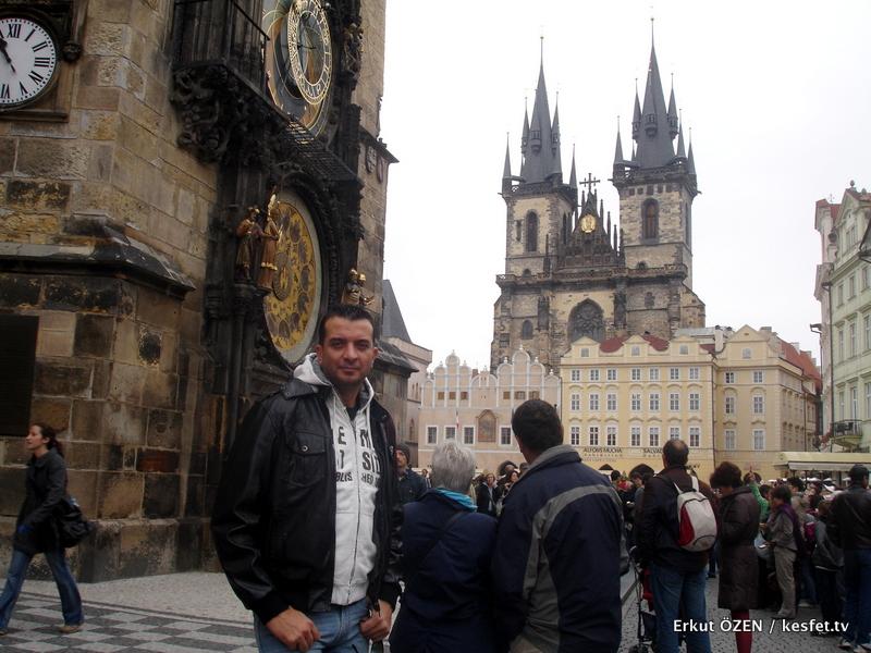 en ünlü saat kuleleri Prag turları rehber Erkut Özen