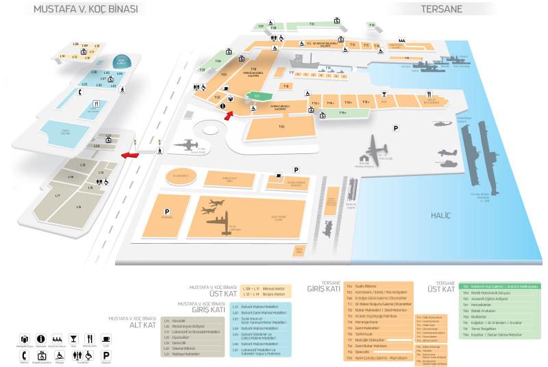 Rahmi Koç Müzesi Planı