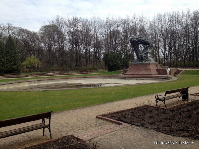 Lazienki Parkı Varşova