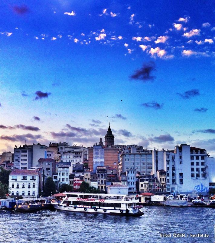 tarihi miras galata kulesi istanbul
