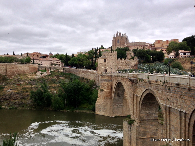 Toledo Alcantara köprüsü