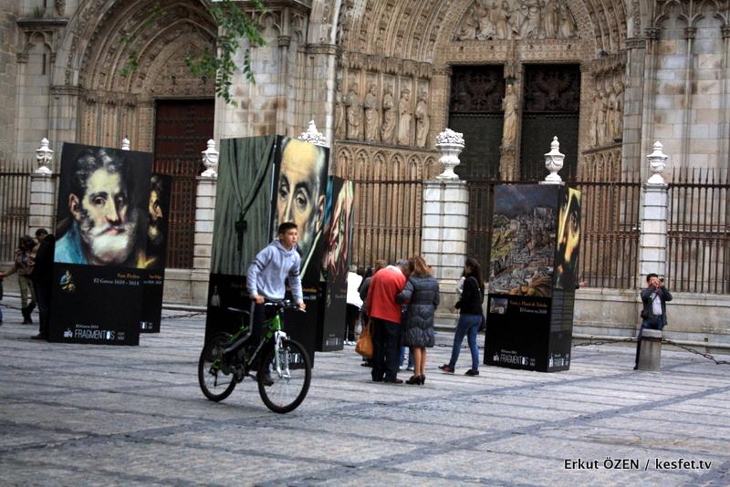 Toledo Gezisi Ayuntamiento Meydanı