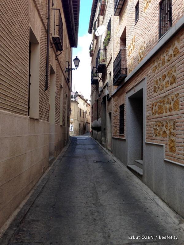 Toledo Gezi Rehberi Toledo sokakları