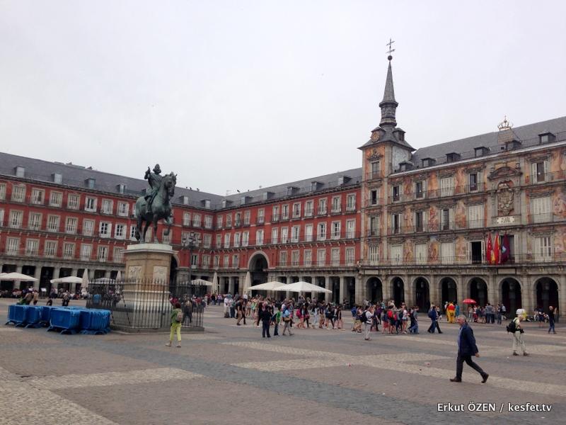Madrid Plaza Mayor gezisi