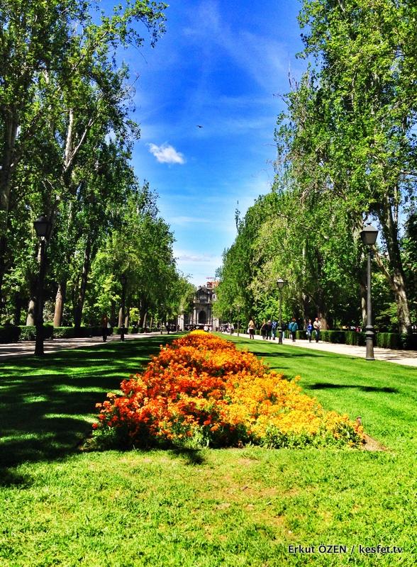 Madrid'in gezilecek yerleri retiro