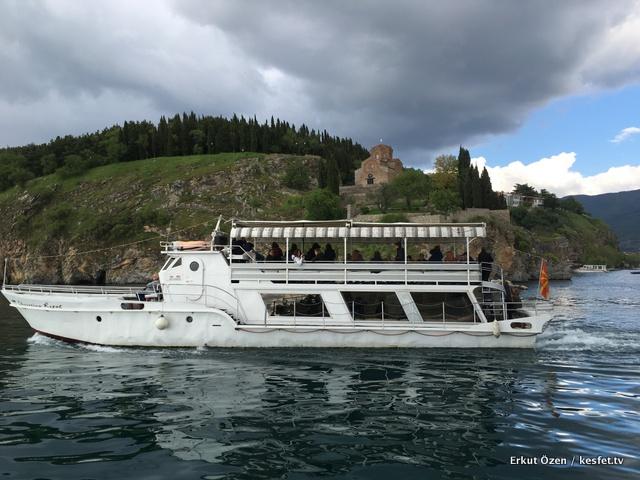 Ohrid gezi rehberi göl tekne turu