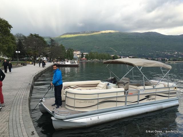 Ohrid Gezi Rehberi Tekne Turu