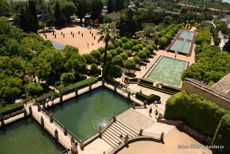 Cordoba Alcazar Sarayı gezisi