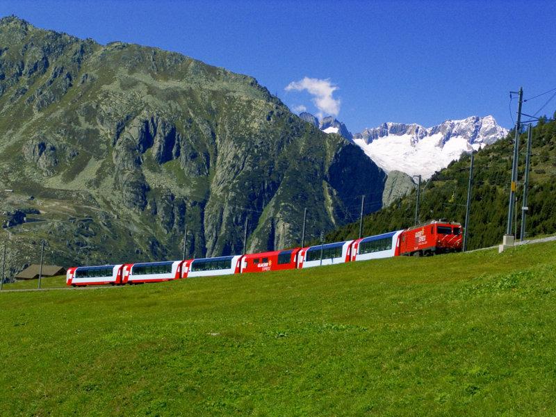 Buzul Ekspresi İsviçre