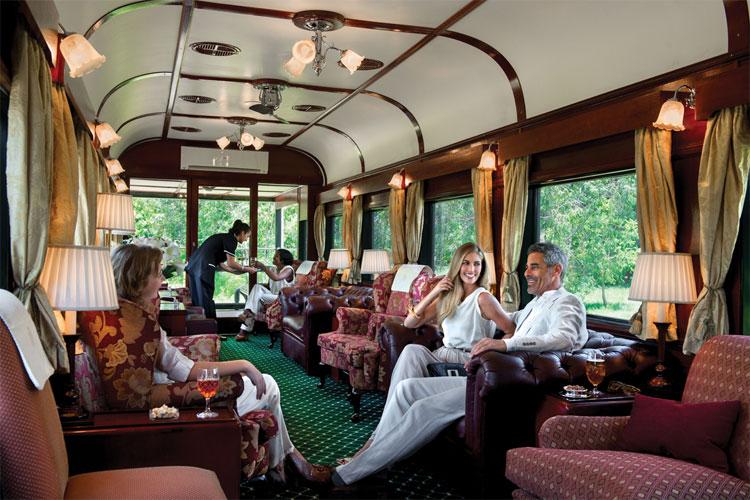 Afrika'da Tren ile Seyahat