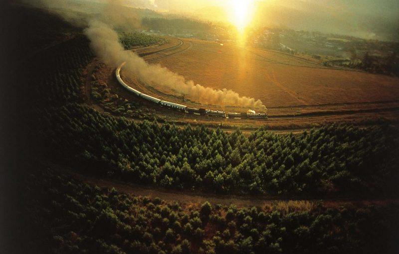 Afrika'da tren ile seyahat rovos