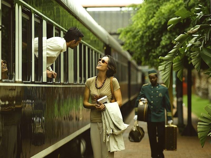 afrikada tren ile seyahat
