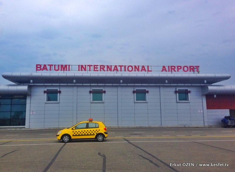 Batum gezi notları uluslararası havalimanı