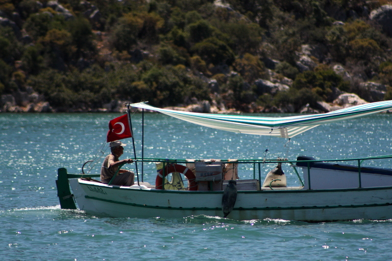 Üçağız Kekova tekne turu
