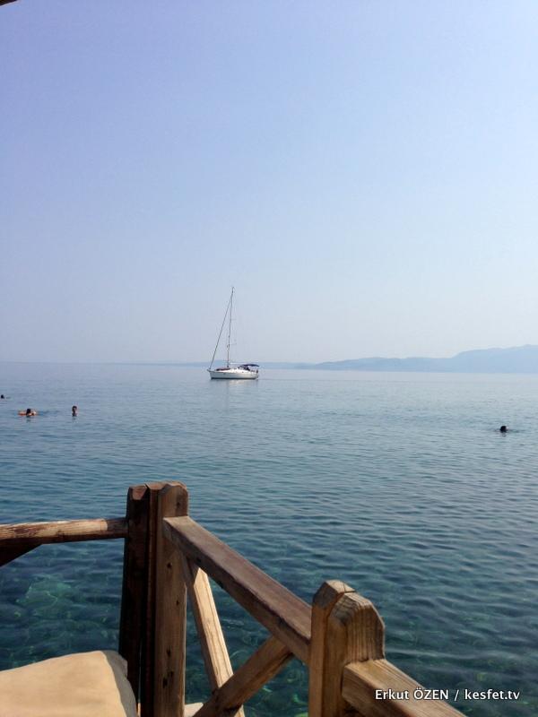 Assos Gezi Rehberi denize girilecek yerler