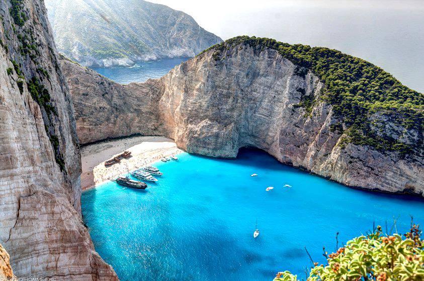 Yunan adaları plajları zakintos