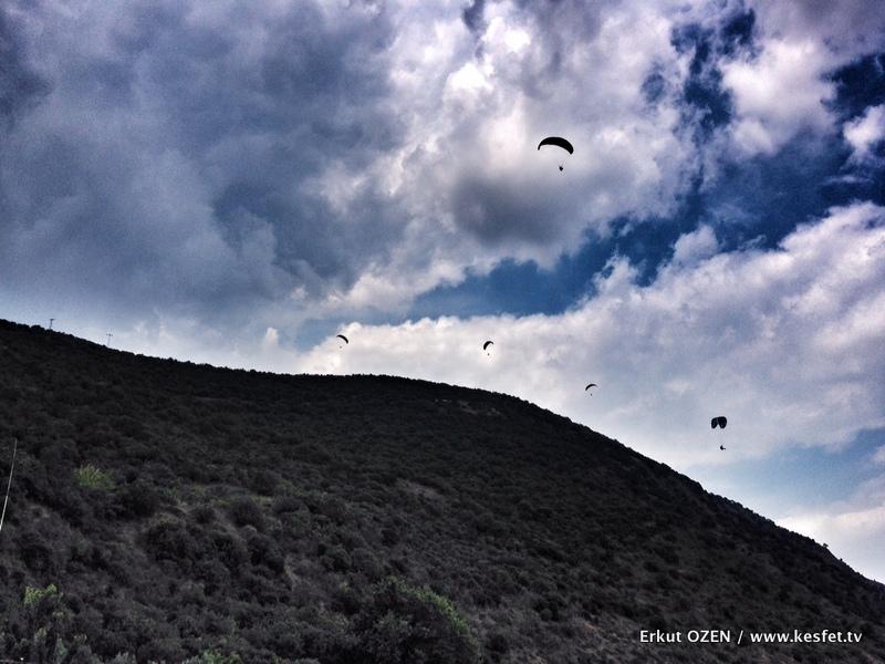yamaç paraşütü deneyimi