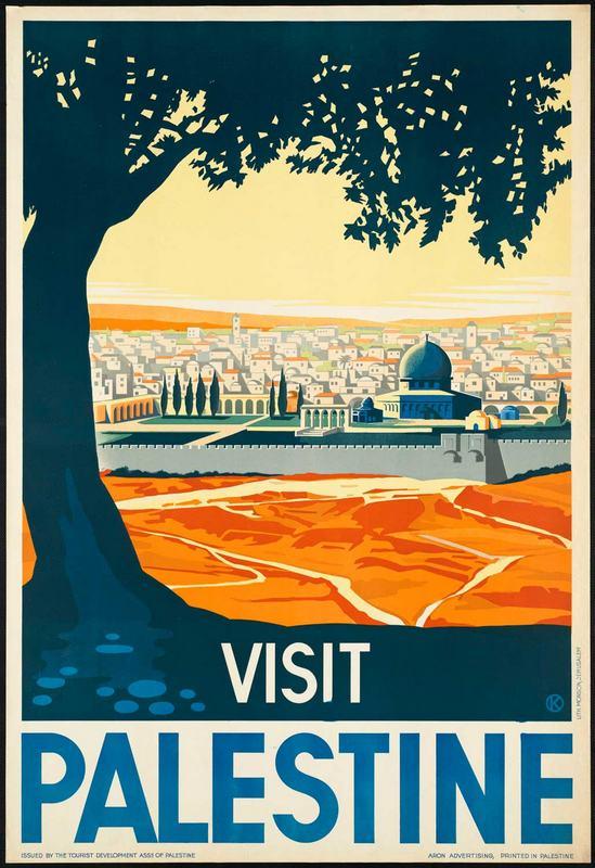 Turizm Tanıtım Afişleri filistin