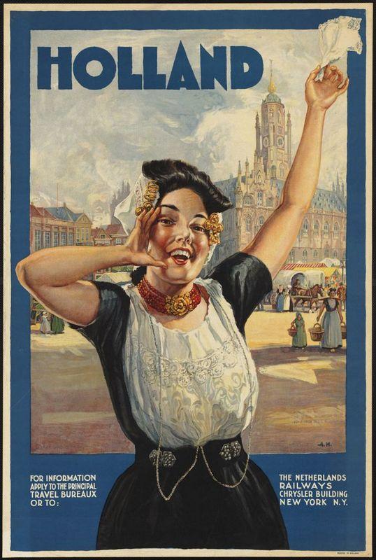 Turizm Tanıtım Afişleri hollanda