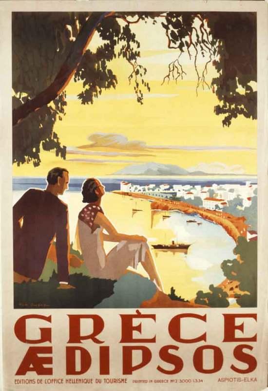Turizm Tanıtım afişleri