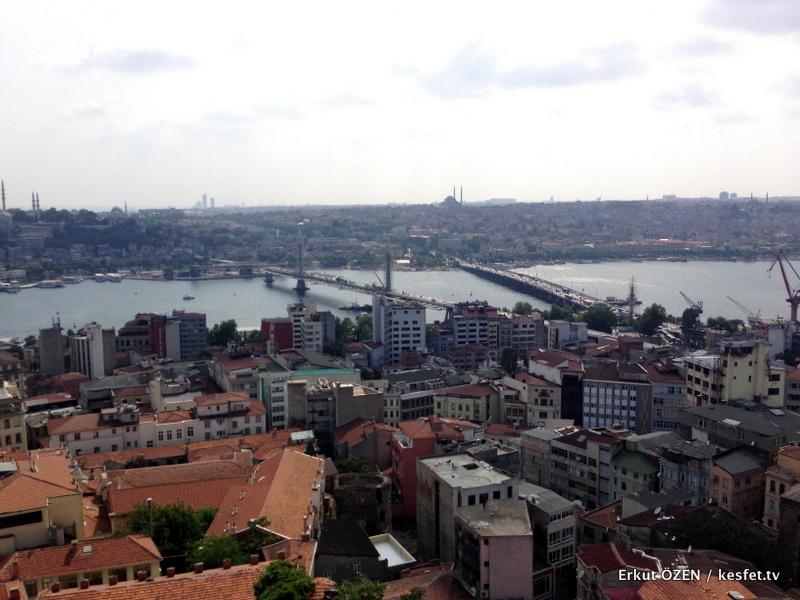Galata Kulesi Haliç Manzara