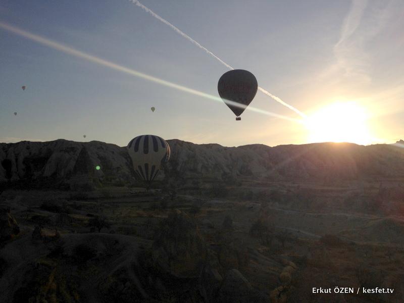 Kapadokya Balon Turu gündoğumu