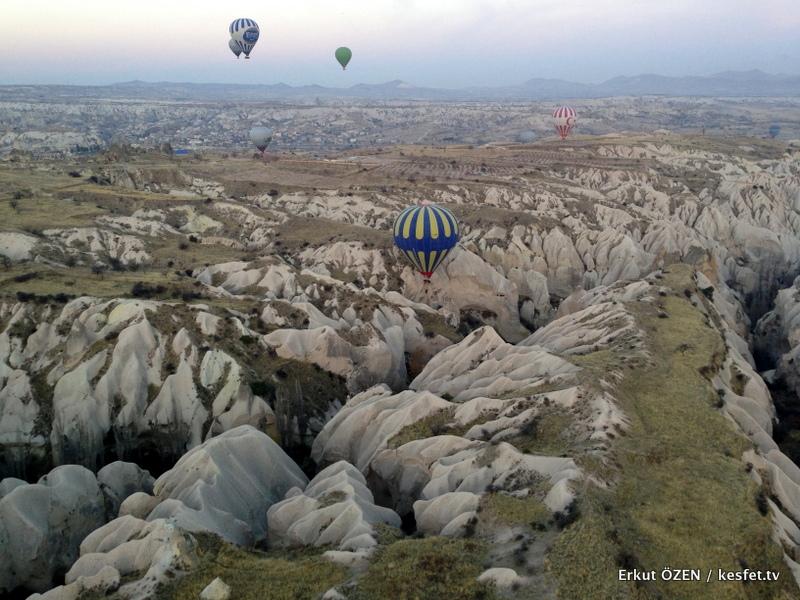 Kapadokya Balon Turu vadi