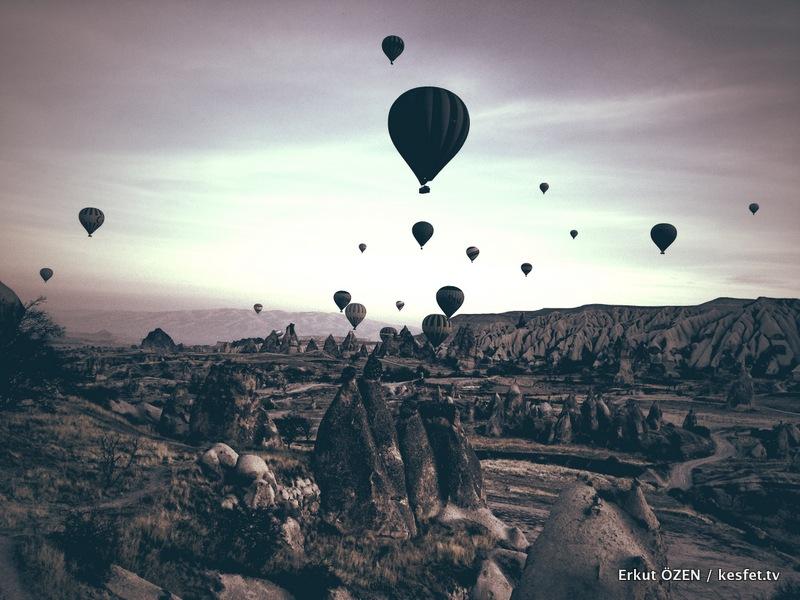 Kapadokya Balon Turu sabah