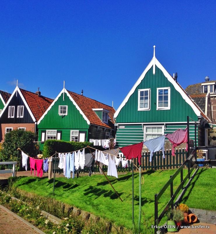 Hollanda da gezilecek yerler evler