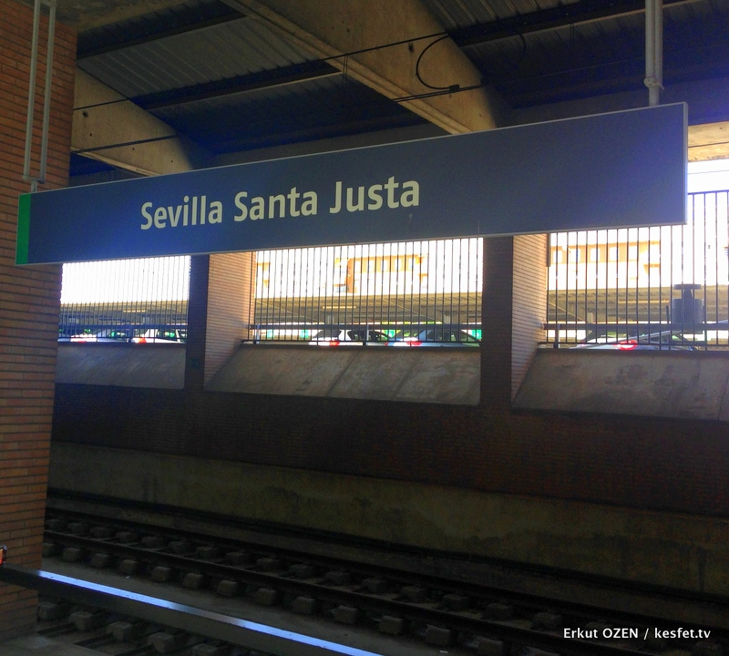 Sevilla gezisi Santa justa