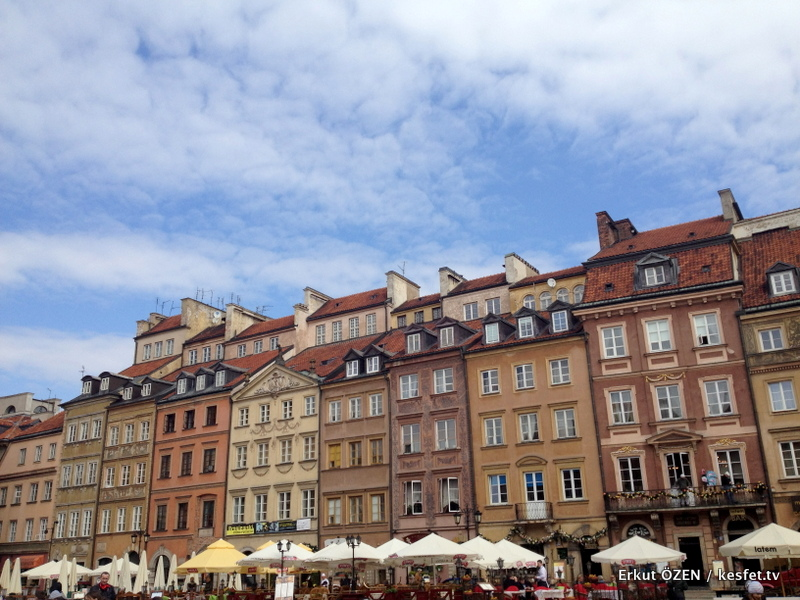 varşova gezilecek yerler old city