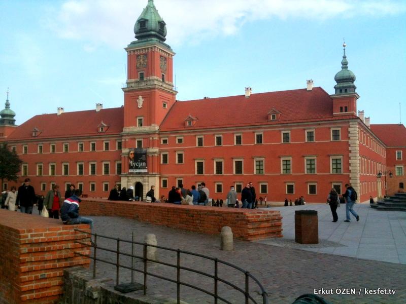 Varşova gezilecek yerler meydan