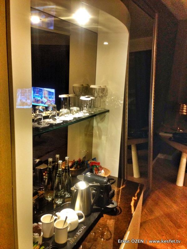 Maxx royal belek oda minibar