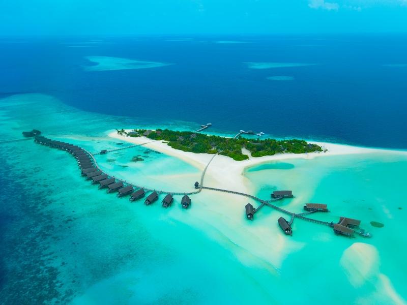 Cocoa Adası Maldivler en iyi plajlar