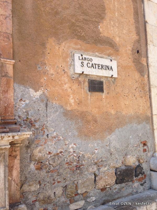 Taormina sokakları
