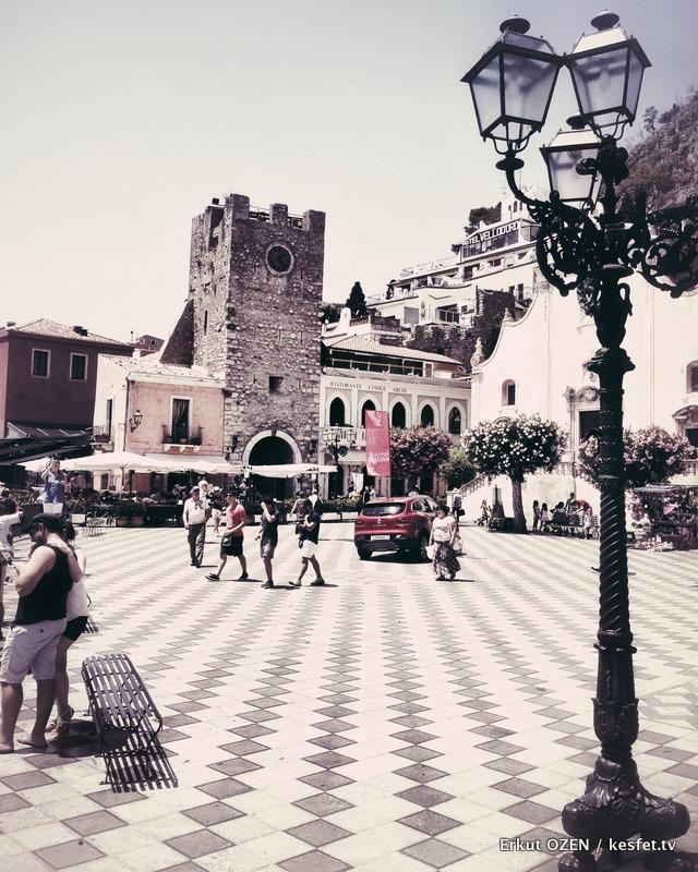 Taormina meydanları