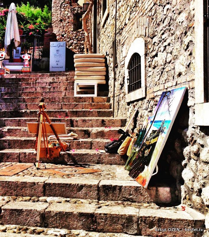 Taormina merdivenler