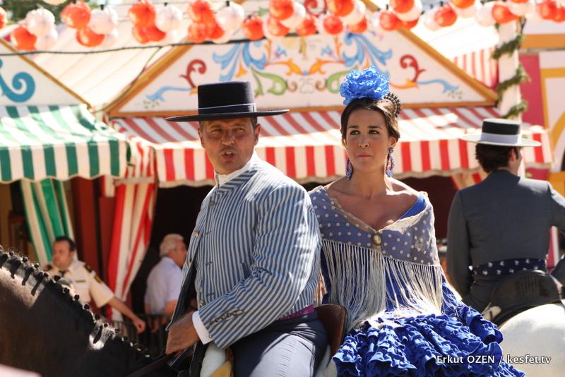 endülüs Sevilla festivalleri