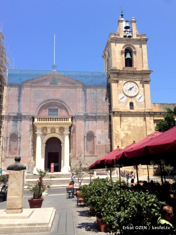 Malta Gezi Rehberi Adım Adım Valletta St. John Katedrali