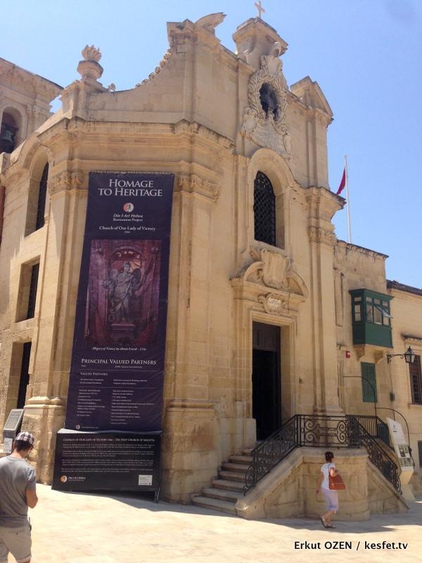 Malta Gezi Rehberi Valleta Our lady kilisesi genel