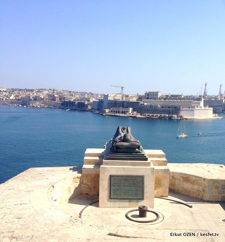 Malta Gezi Rehberi Valleta anit