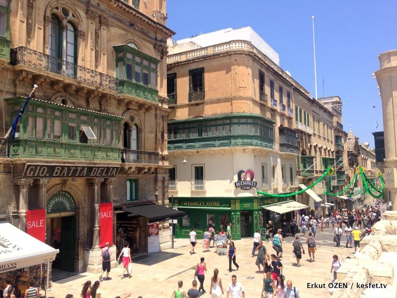 Malta Gezi Rehberi Valleta genel