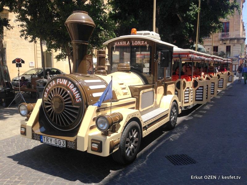 Malta Gezi Rehberi Valleta gezi treni