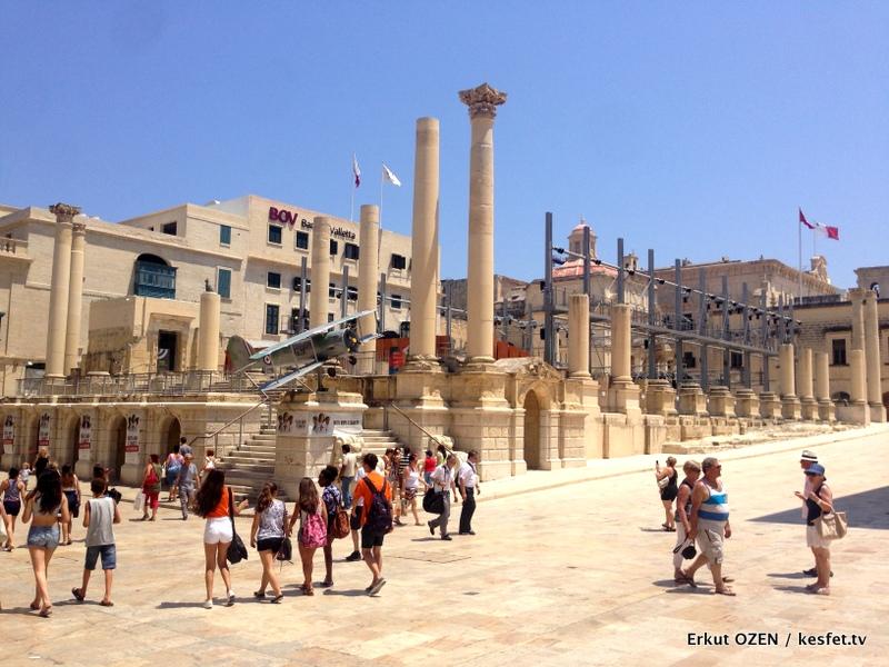 Malta Gezi Rehberi Valleta royal opera