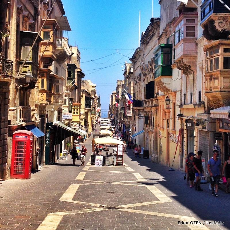 Malta Gezi Rehberi Valleta sokaklar 6