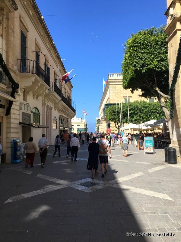 Malta Gezi Rehberi Valleta sokaklar 8